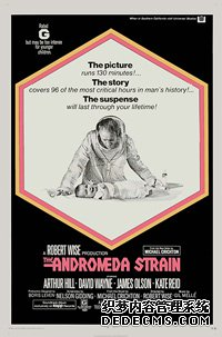 1969年,迈克尔?克莱顿(Michael Crichton)在科幻小说《安德罗美达菌株》中描述:美国亚利桑那州一个小镇的许多居民被一艘坠毁卫星意外带来的微生物感染死亡。